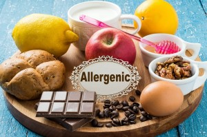 food allergy and body
